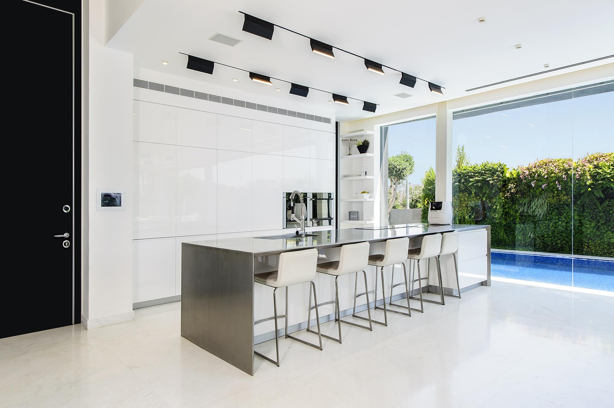 Hidden House kitchen