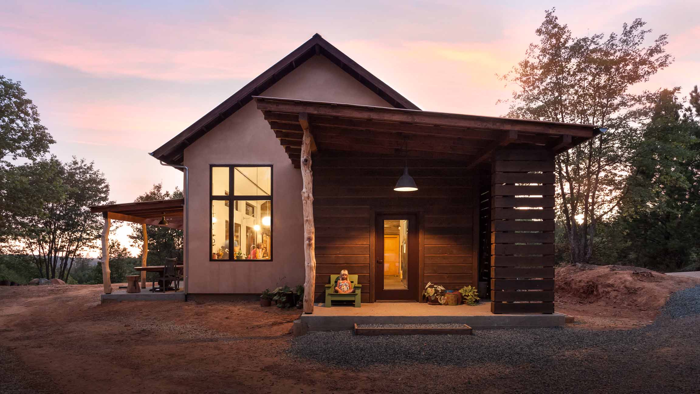 Net-zero home in California