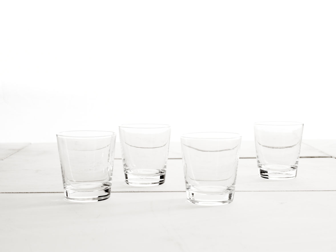 Glasses by Heath Ceramics Winter Collection