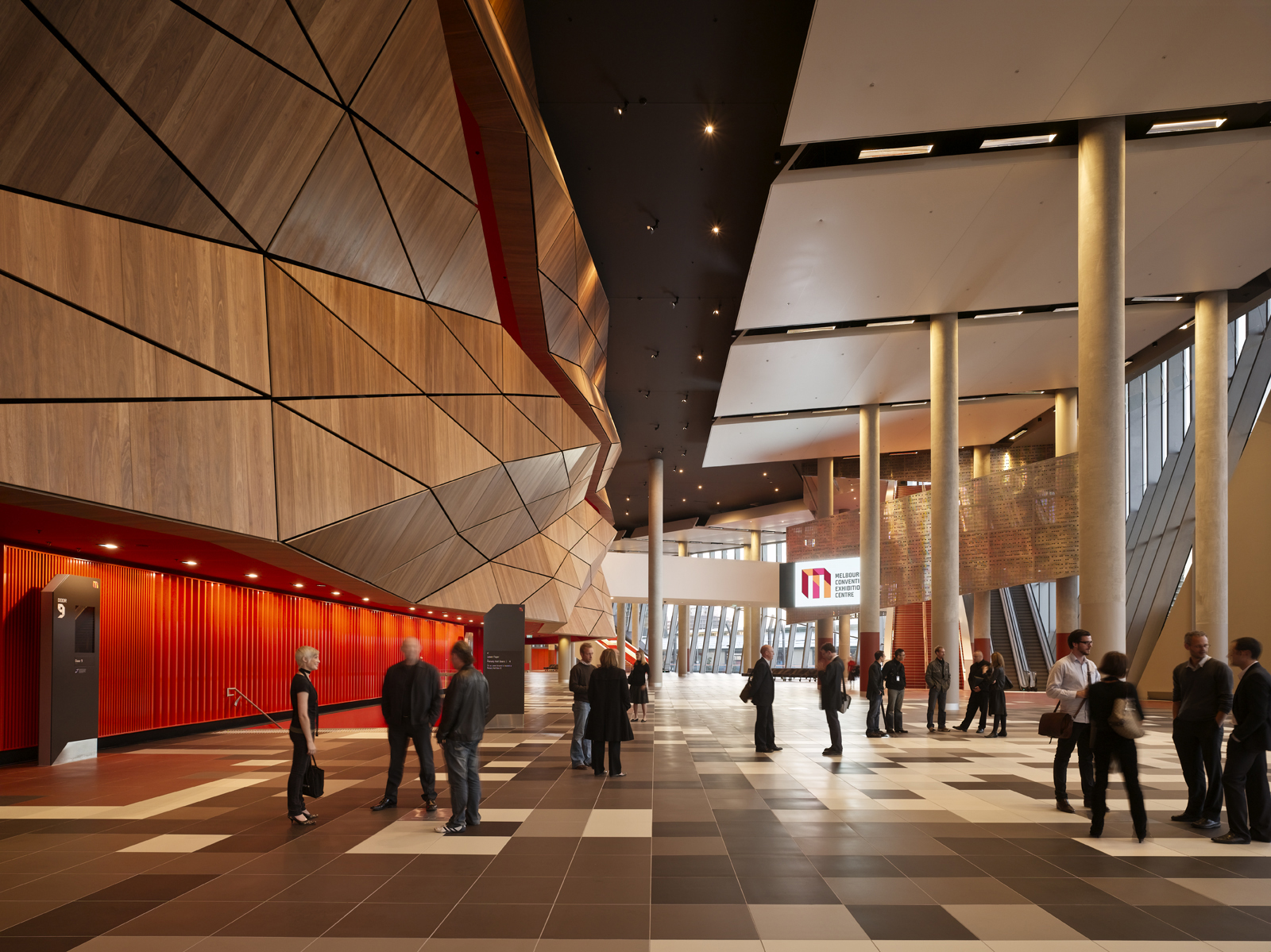 I think the most important thing architect Hamish Lyon told me about the new Melbourne Convention Center was that he wanted it to become a part of the city's architectural scheme, embraced by locals as another landmark to which they'll become attached, an