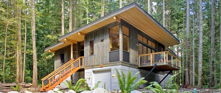 The Method Cabin, shown here, is the company's most popular model.