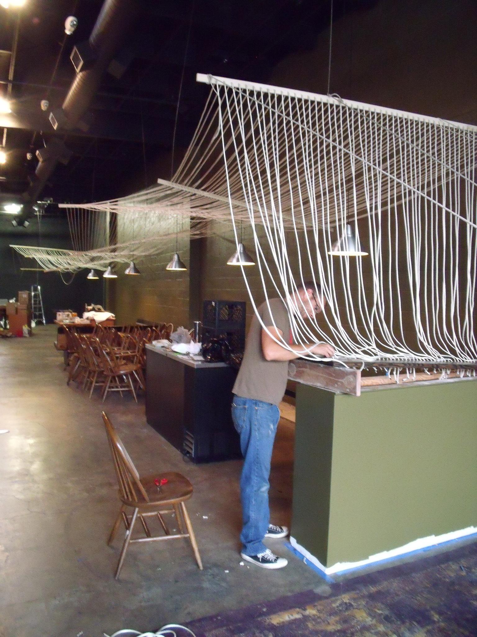 anju rope installation loom