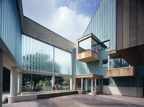 bornhuetter hall wooster dorm cantilever