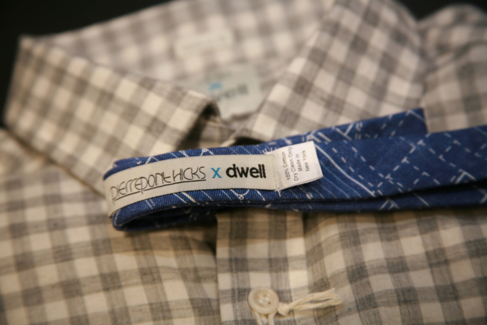 dwell dod2010 taylor stitch closeup shirt