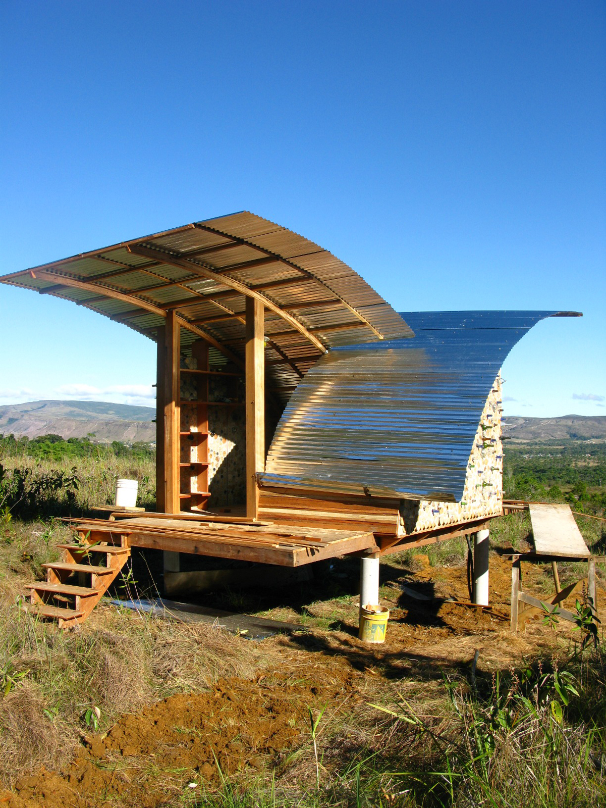 Corrugated metal dwelling in Venezuela