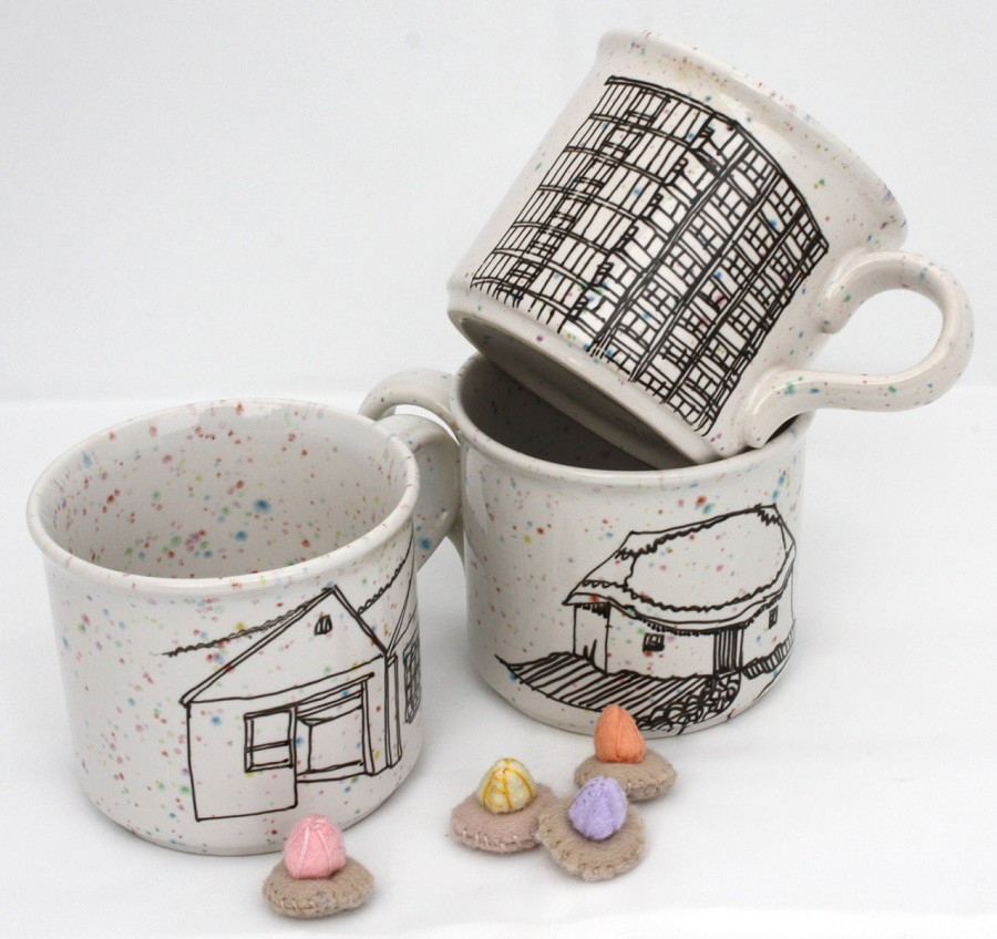 esther coombs ceramic mug