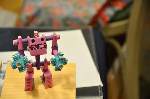 maker faire robot