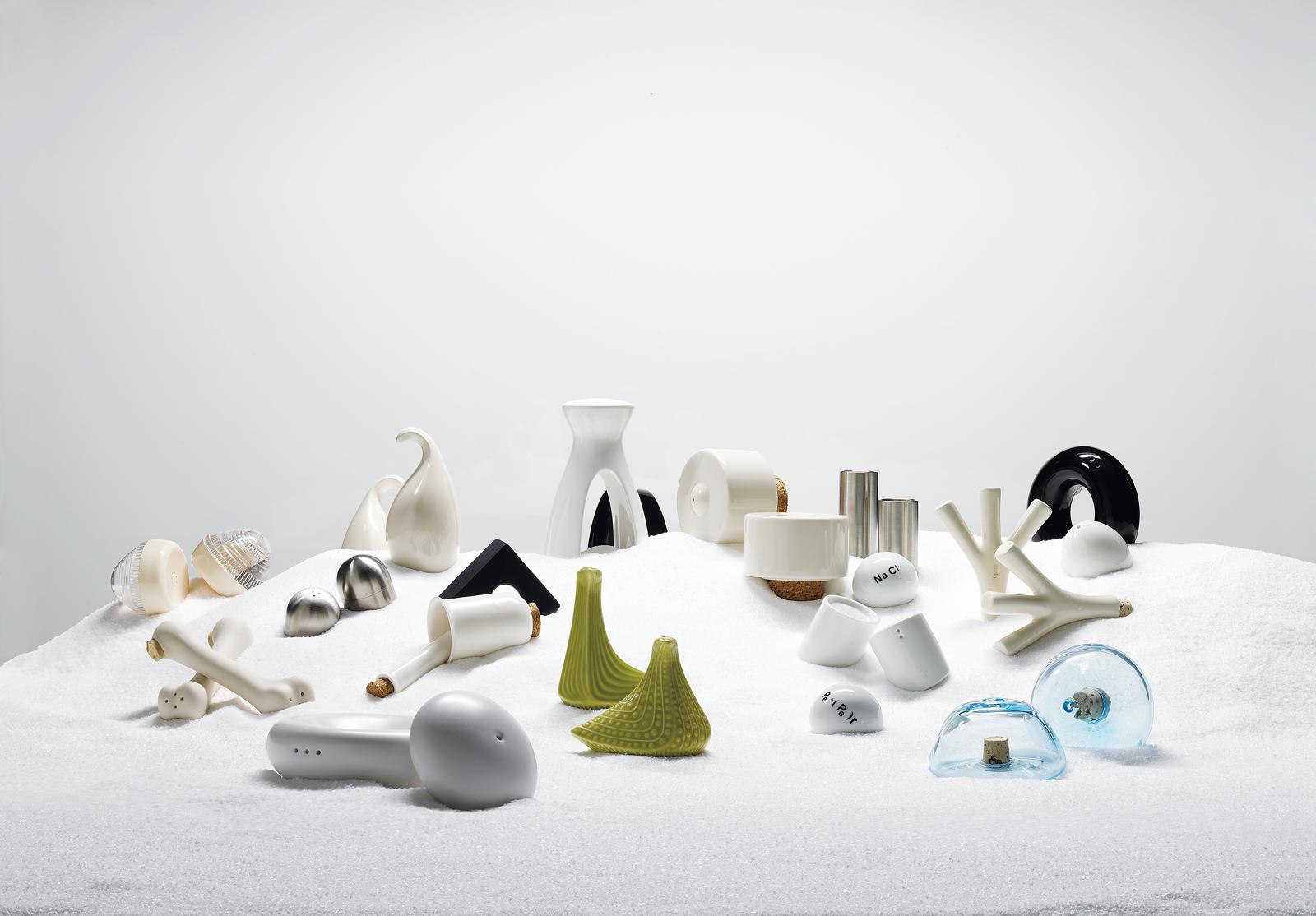 modern salt and pepper shakers assortment