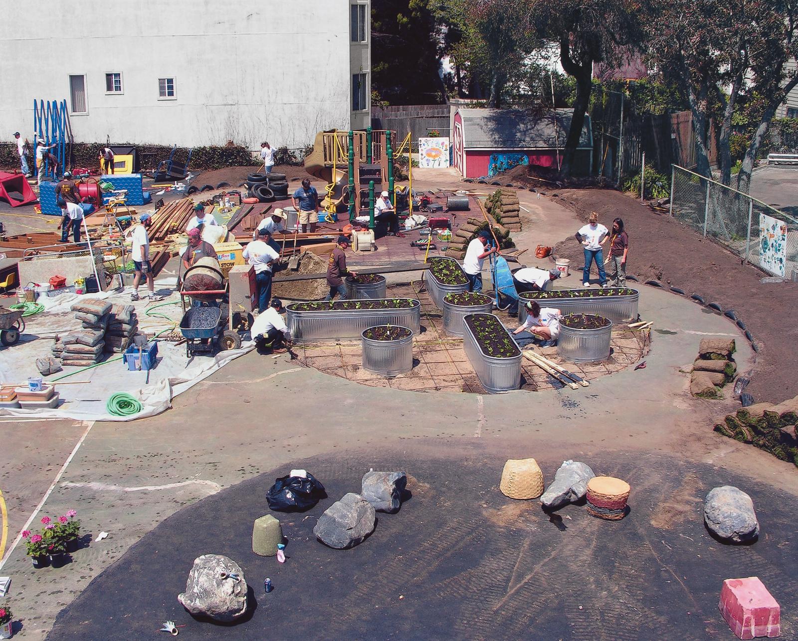 rebuilding together playground makeover