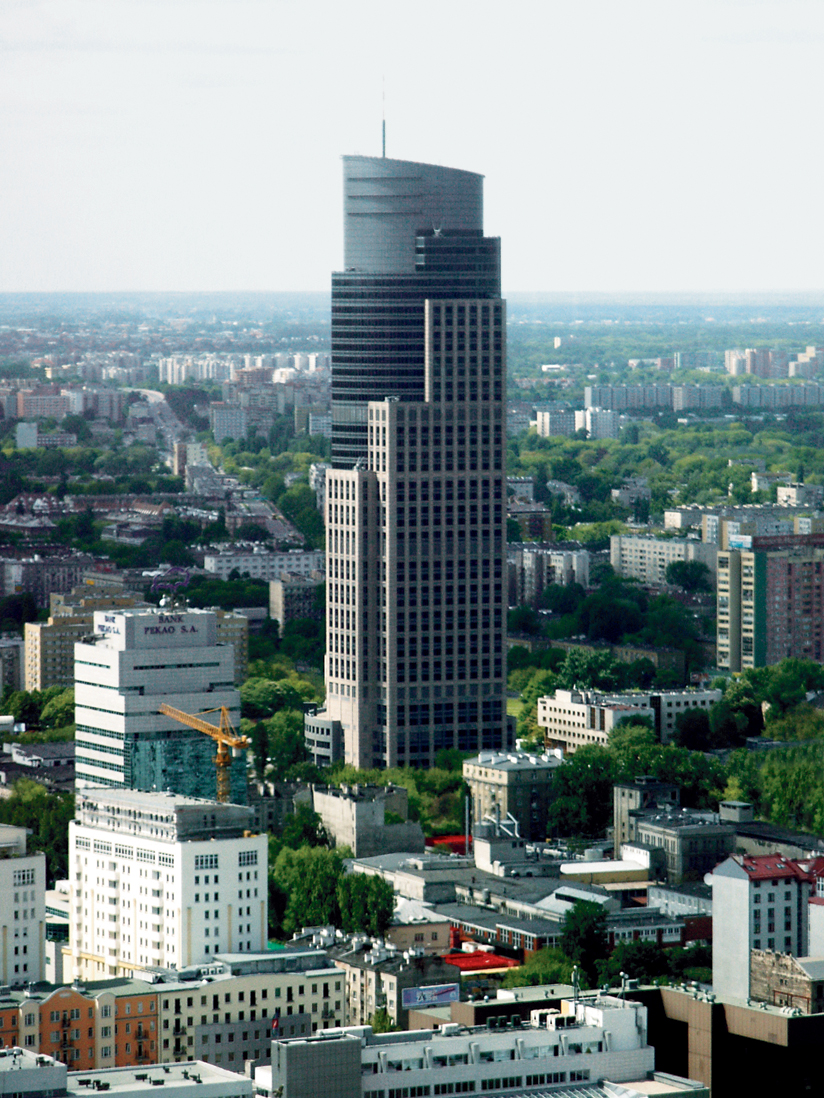 travel warsaw poland urban landscape trade tower1