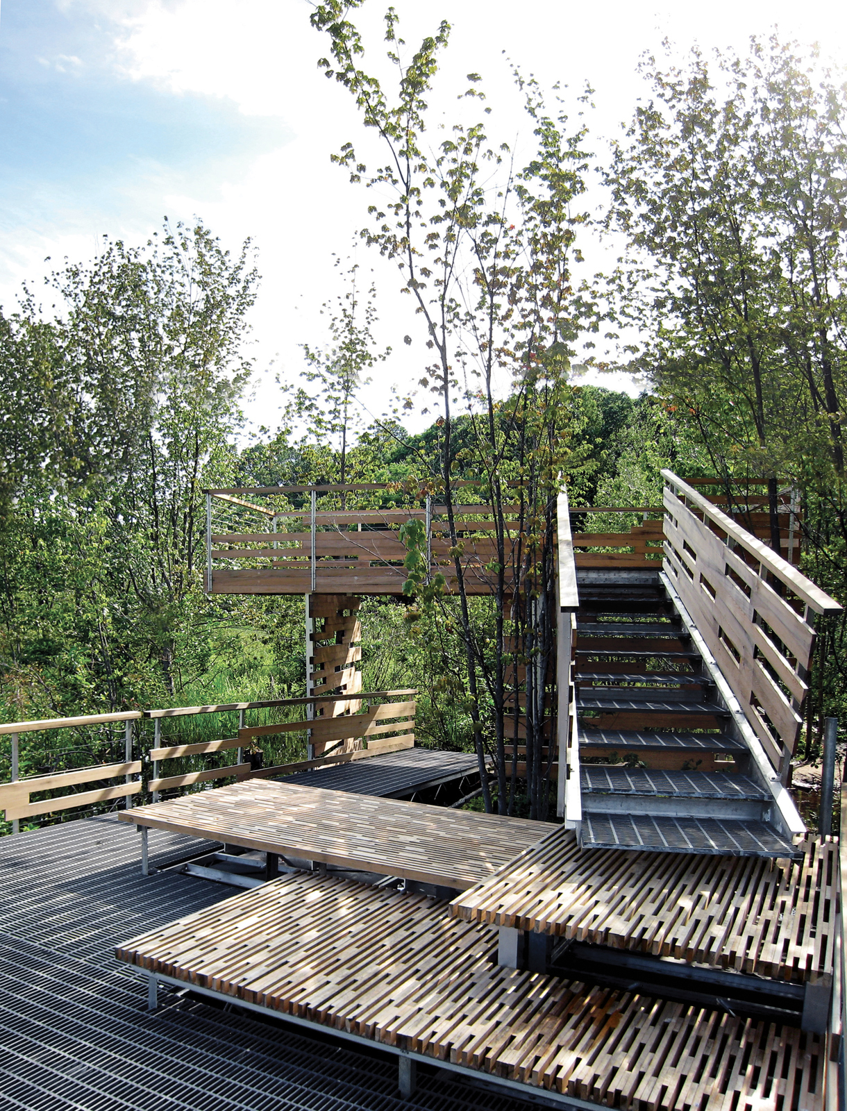 wildlife sanctuary viewing platform