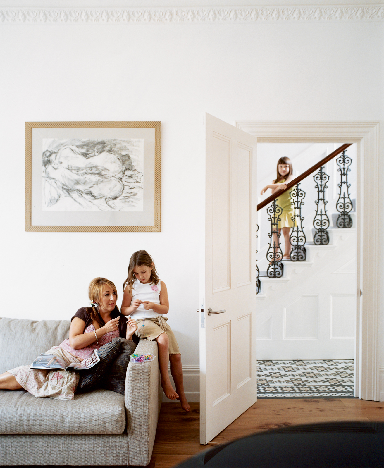 Have you ever walked past a house on your way to work and thought, Wouldn't it be nice to live there? Artist Judith Brenner did. But unlike most of us, Judith loved the house so much that, in July 2002, she and her husband, Jonathan, took things a step fu