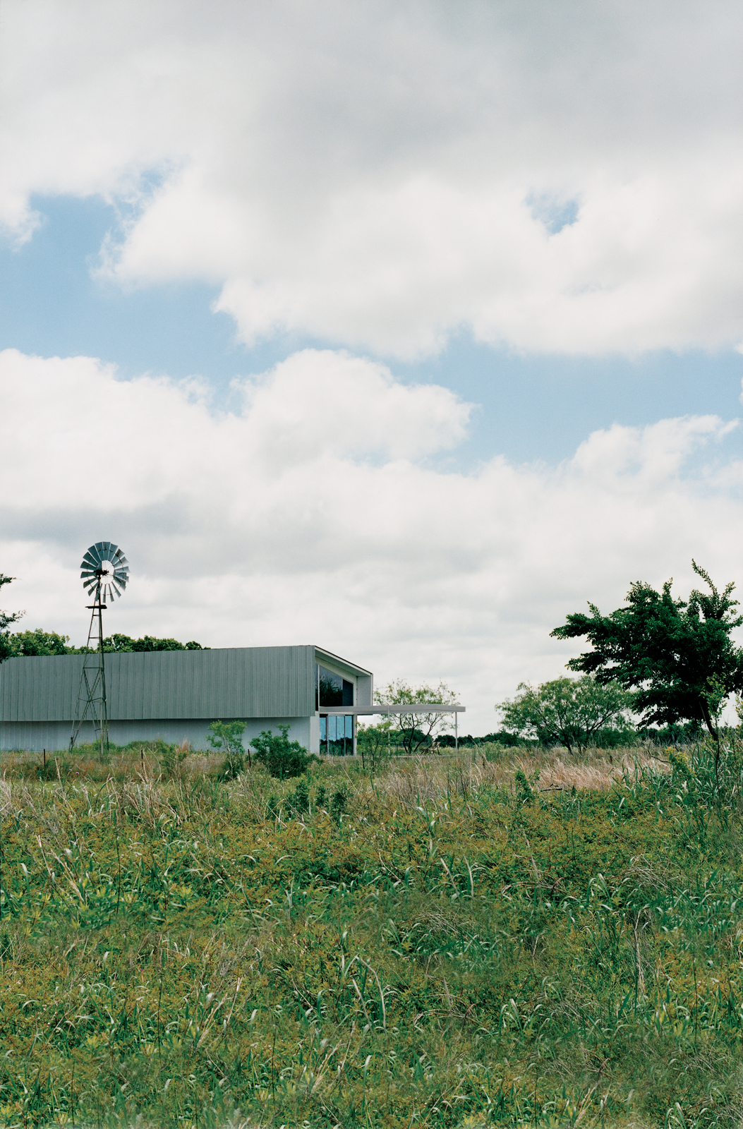 farley studio exterior view from field