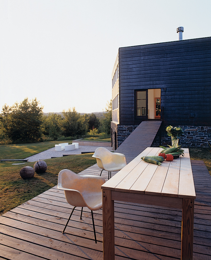 Copper House, Omi, New York