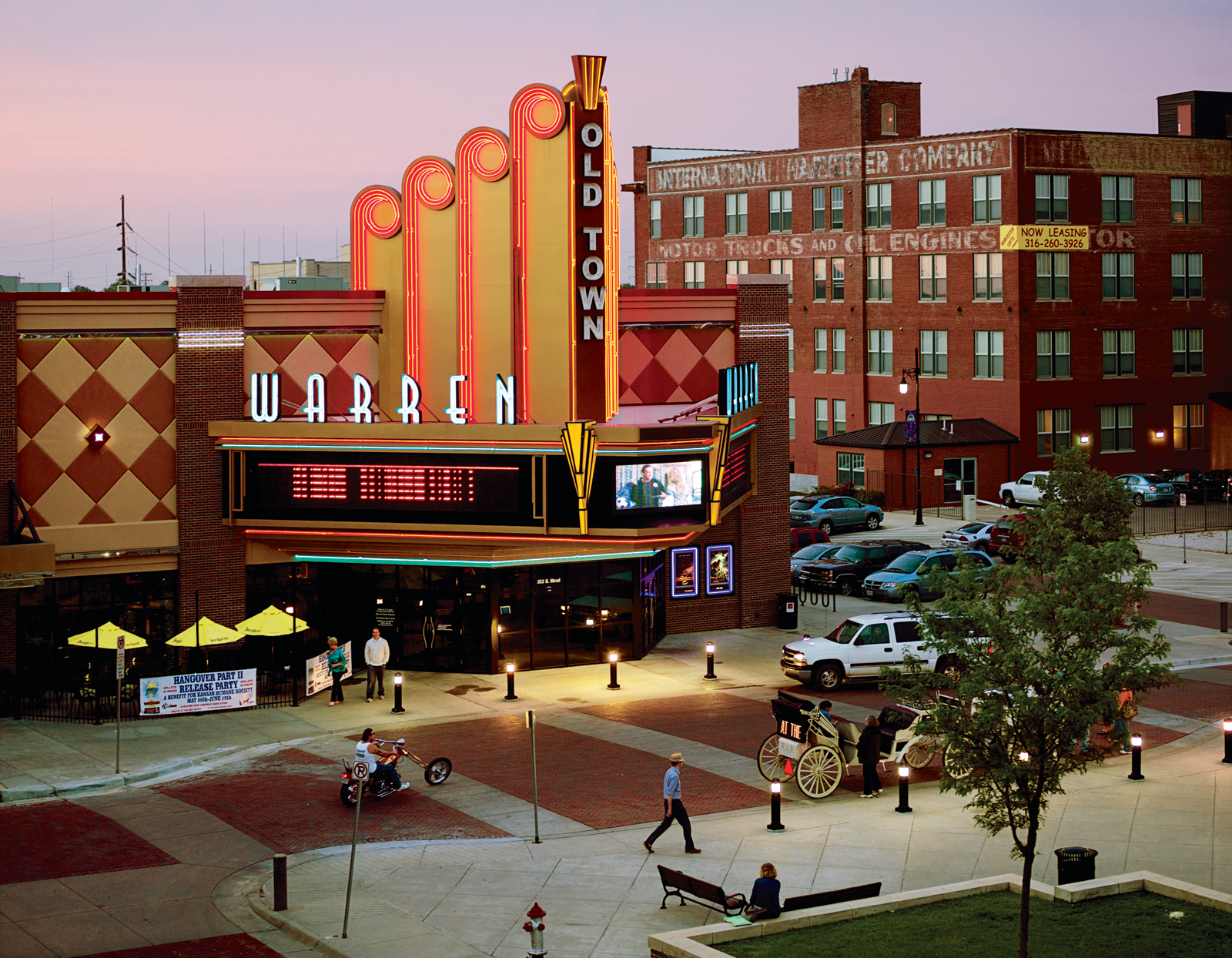 The OldTown Theatre Grill in downtown Wichita, Kansas