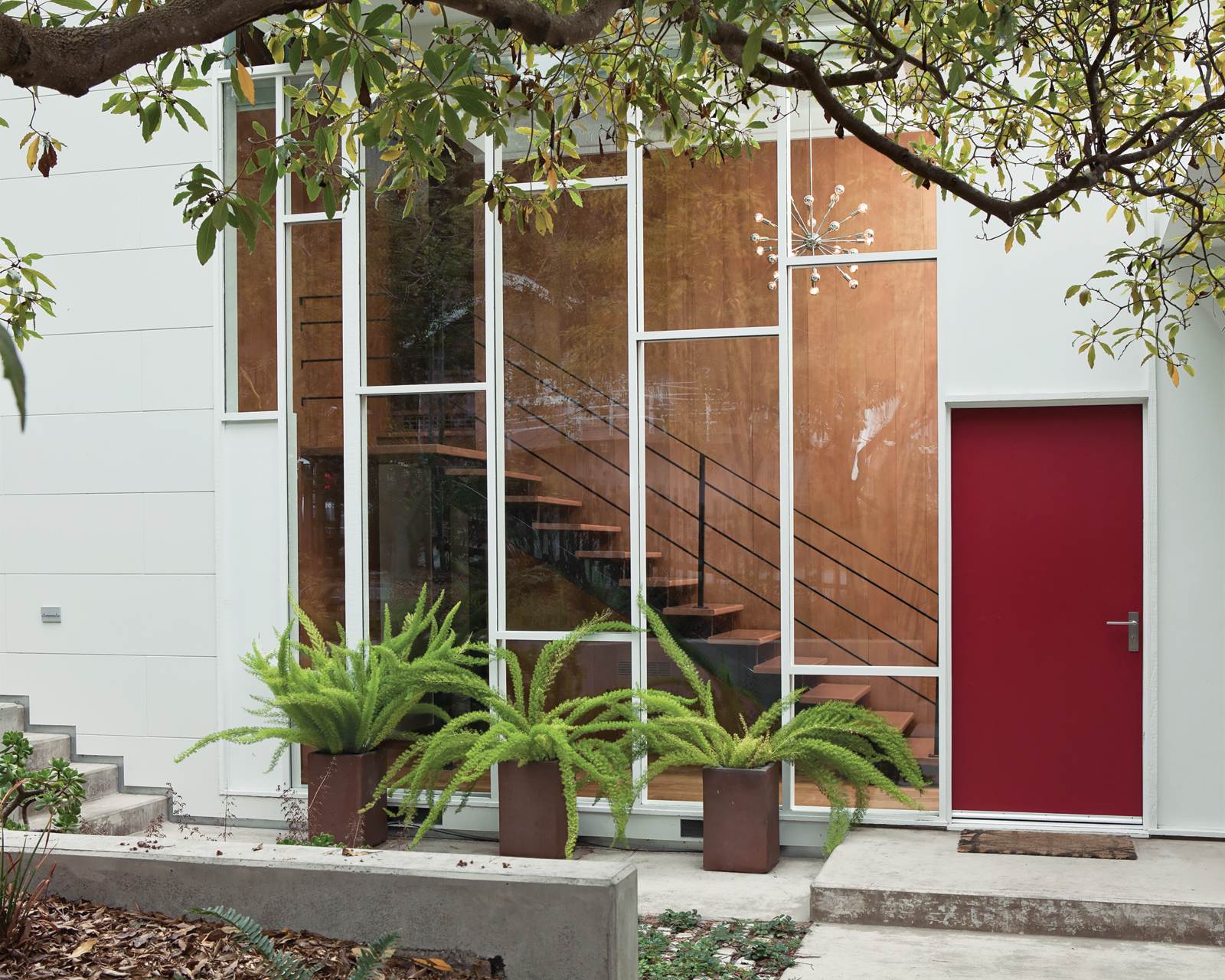 LEED Platinum certification modern home renovation