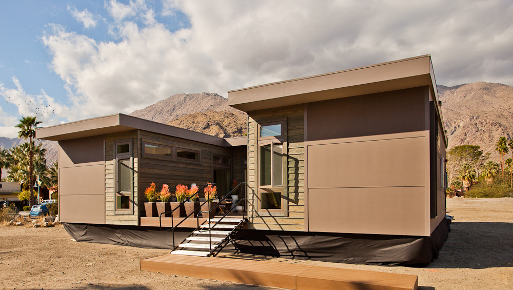 "Starting at $179,000, the C6 is a three-bedroom, two-bath, 1,232-square-foot home outfitted with comfort and sustainability in mind. According to Glenn, hitting that magic number was the biggest challenge of designing this home, but, ""a combination of sma"