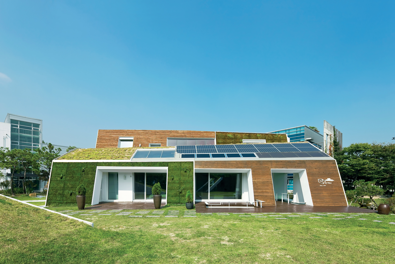 E+ Green Home in Seoul, South Korea