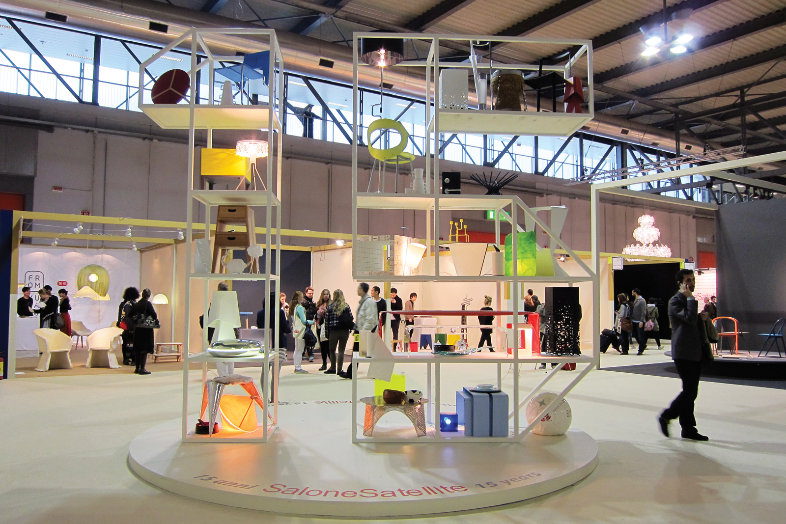 SaloneSatellite in Milan