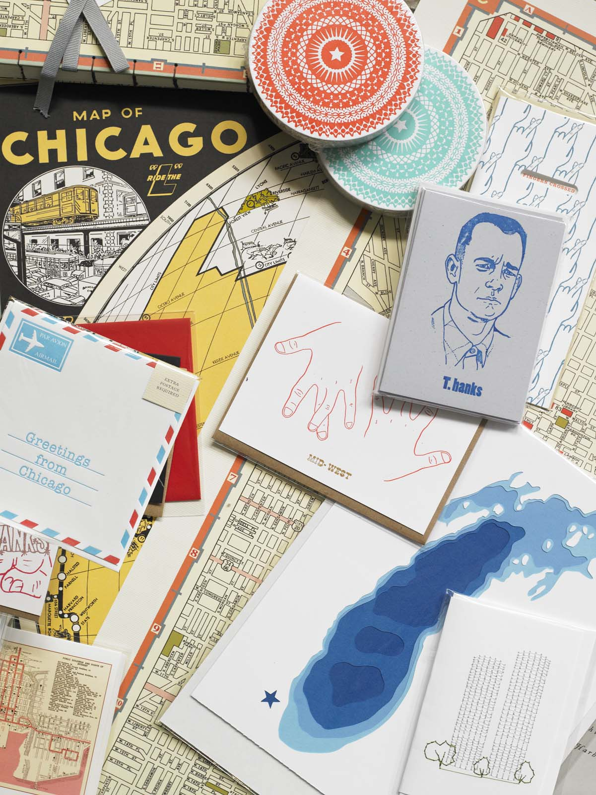 Letterpress goods at Greer in Chicago