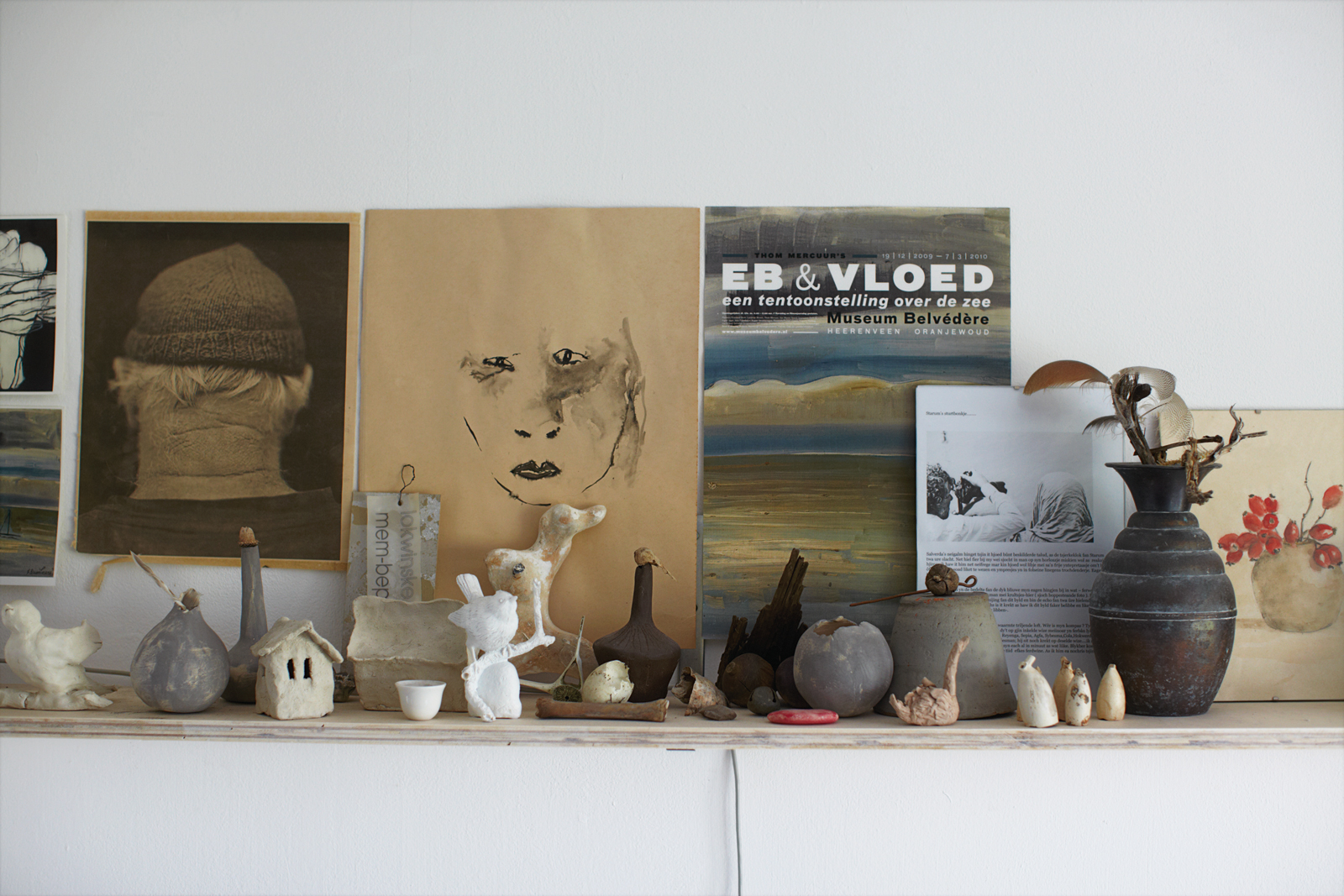 Wall art and handmade objects