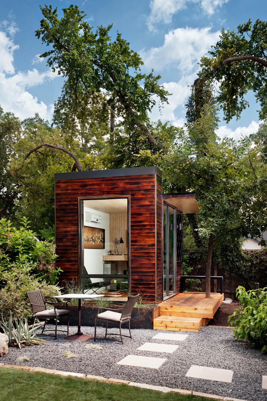 Modern prefab home by Sett Studio