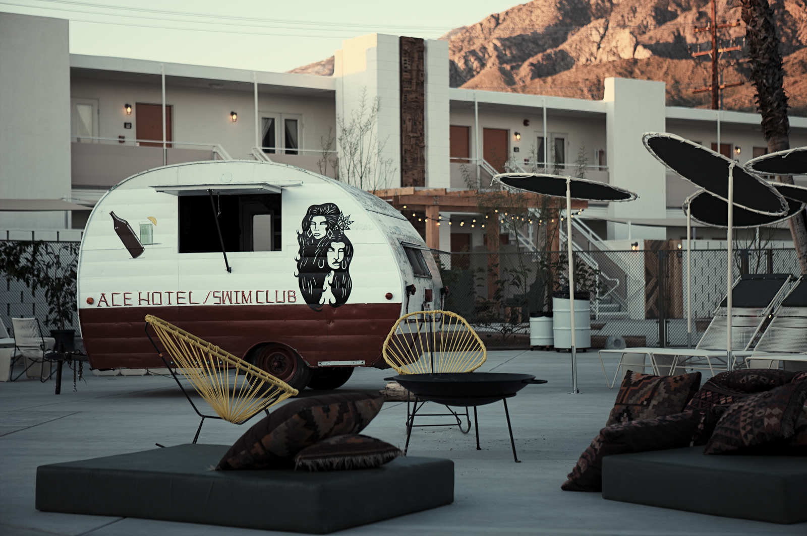 Ace Hotel in Palm Springs, California