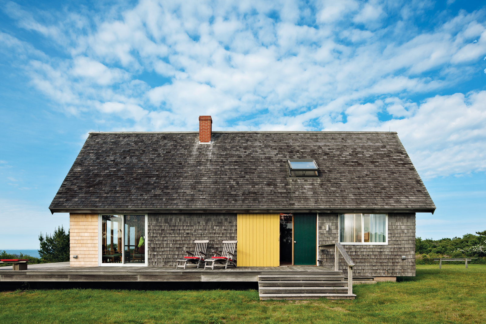 Designer Jens Risom's vacation home on Block Island