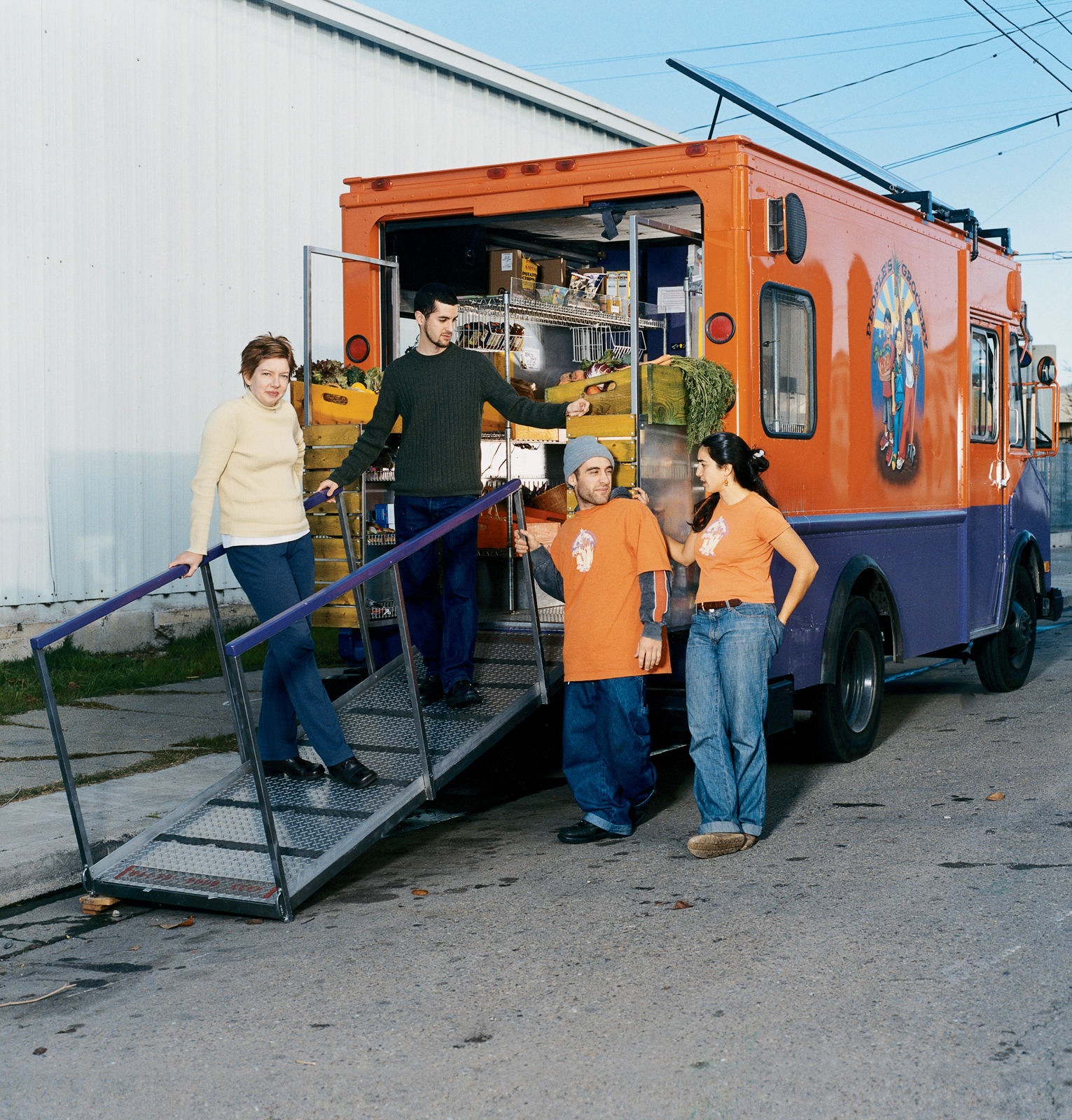 People's Grocery Mobile Market in Oakland