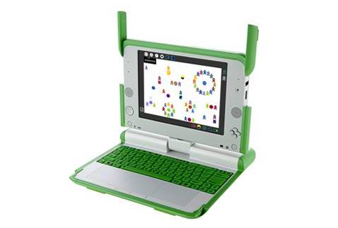 One Laptop Per Child XO Laptop by Yves Behar