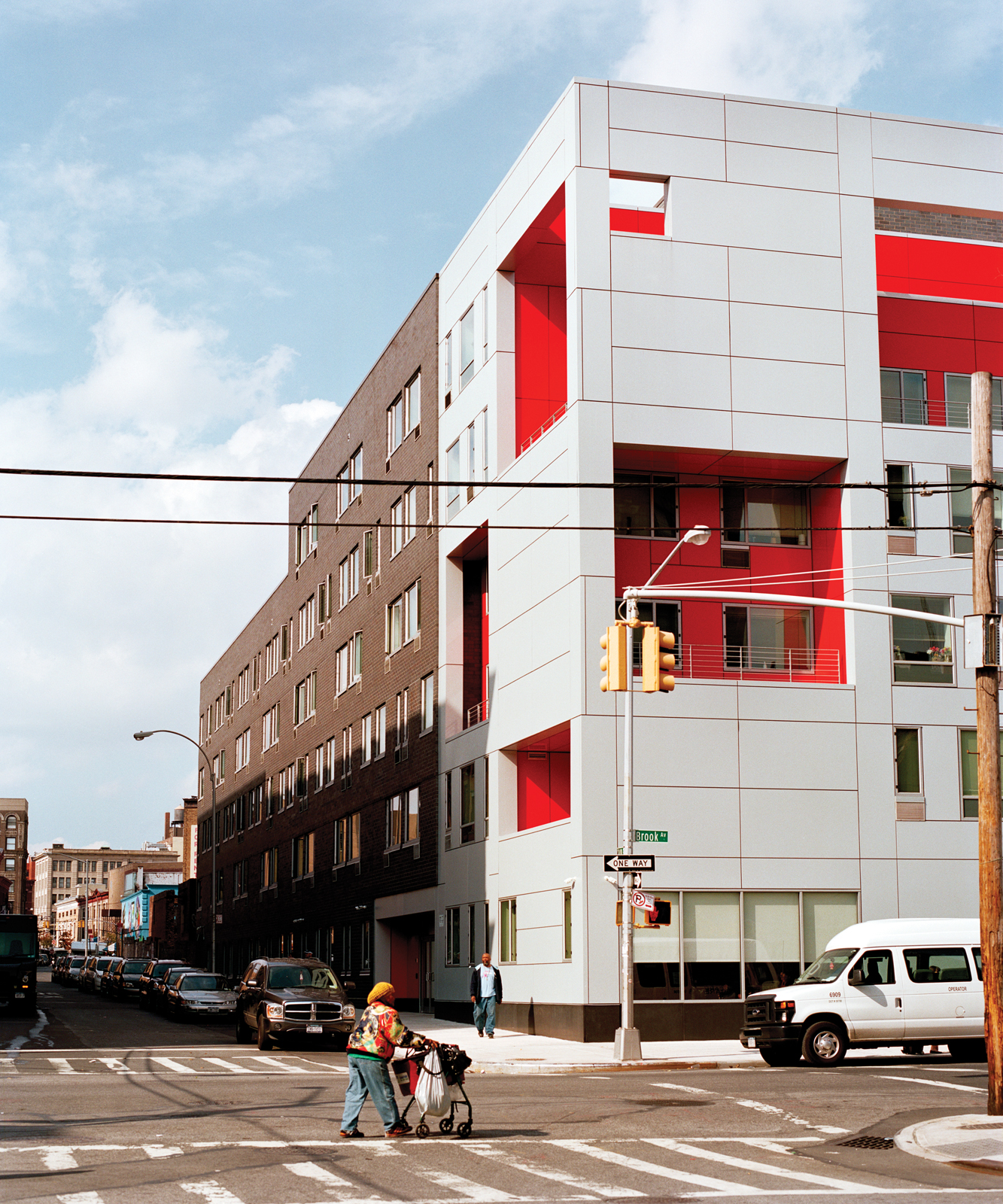 Housing development in South Bronx, New York