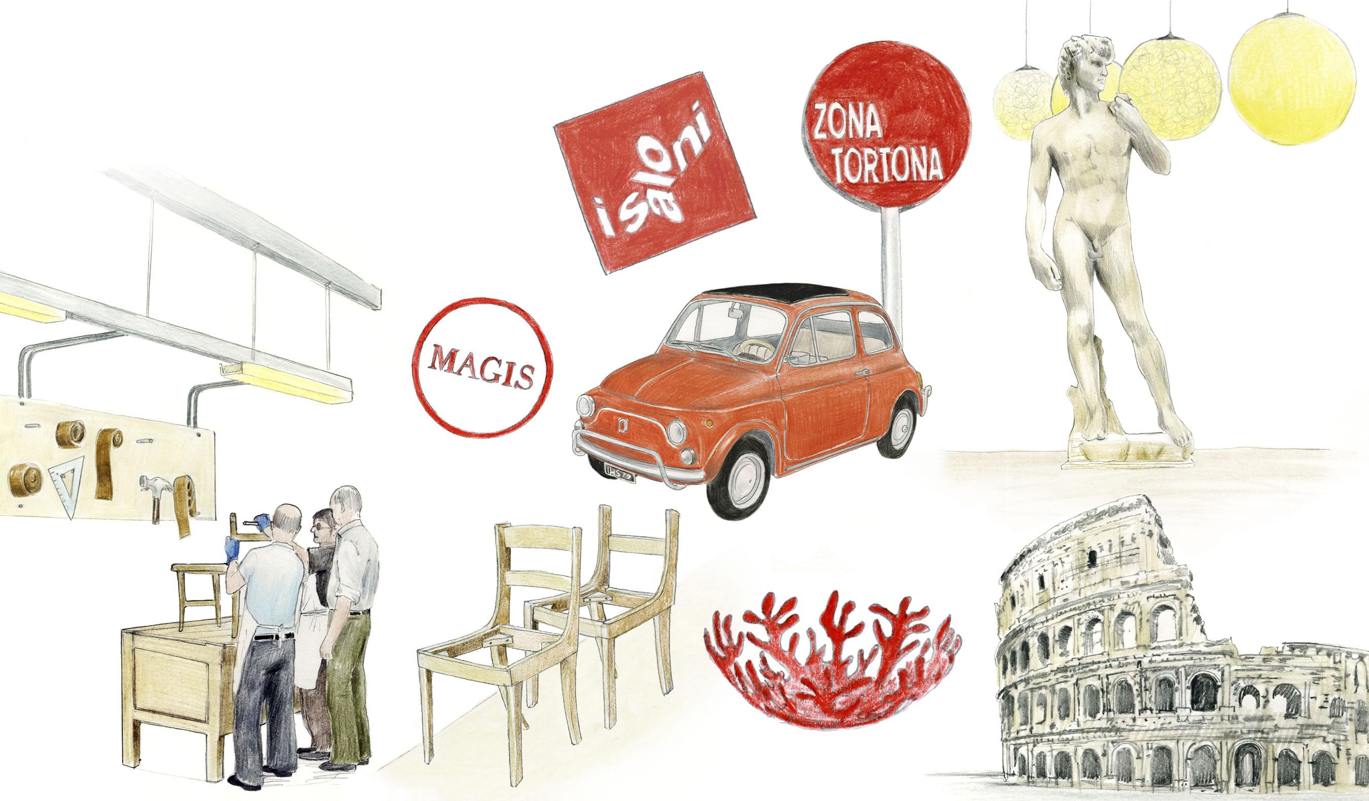 Italian design icons