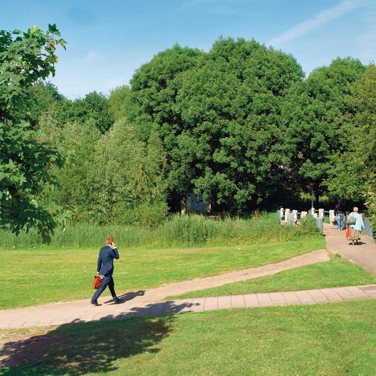 Kantoorpaadje path in Pietersbergweg, Amsterdam