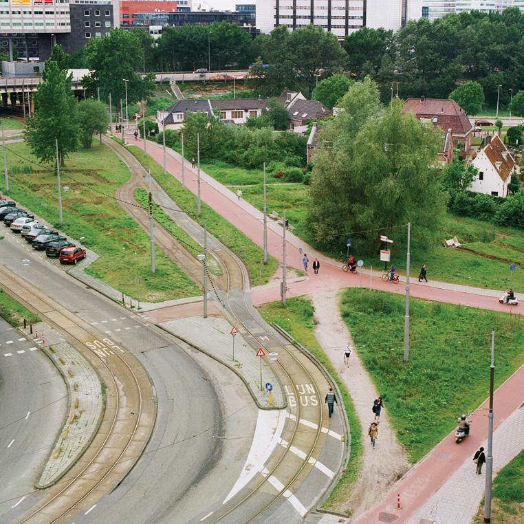 Olifant Achmea path in Molenwerf, Amsterdam