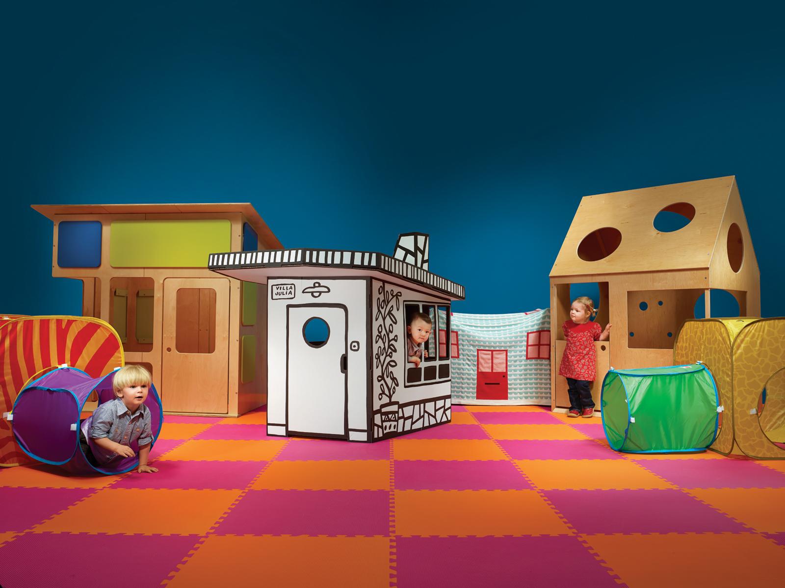Modern playhouses for children