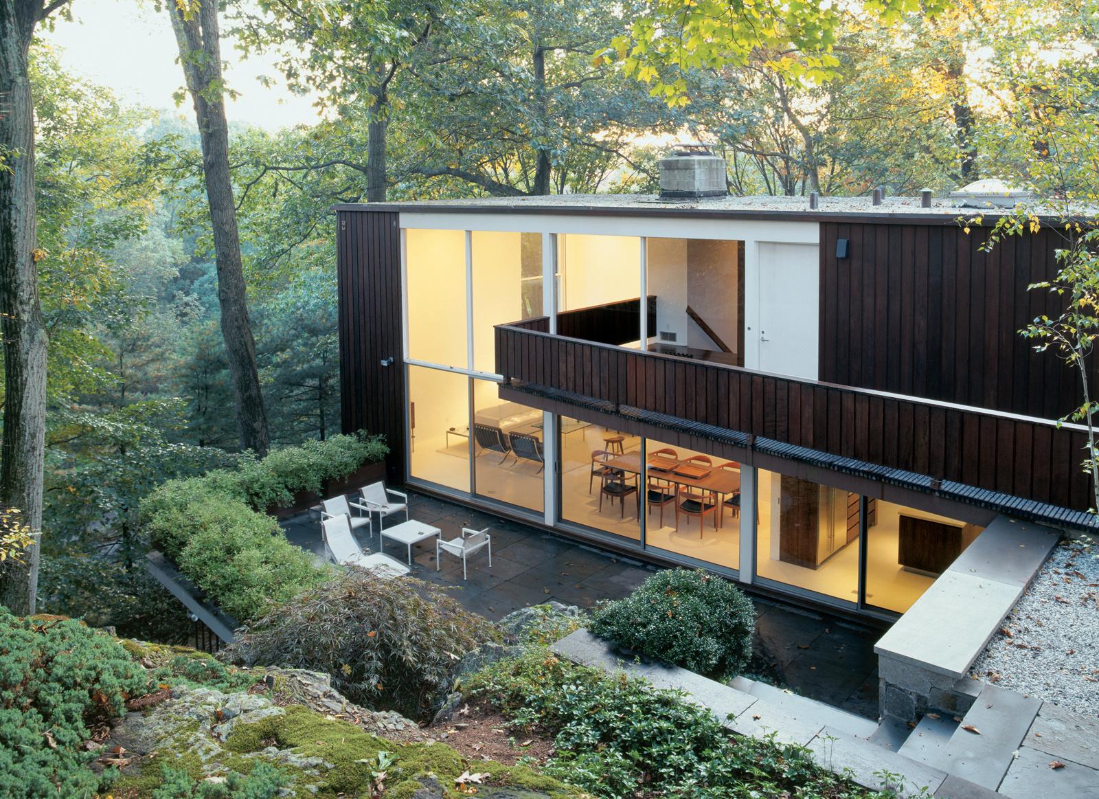 Bassam fellows house exterior patio