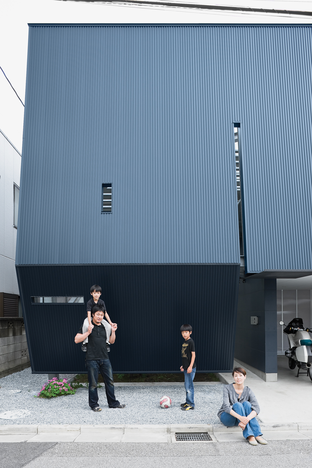 Dwell my house 2009 saitama japan child group architecture design interior modernism portrait residence