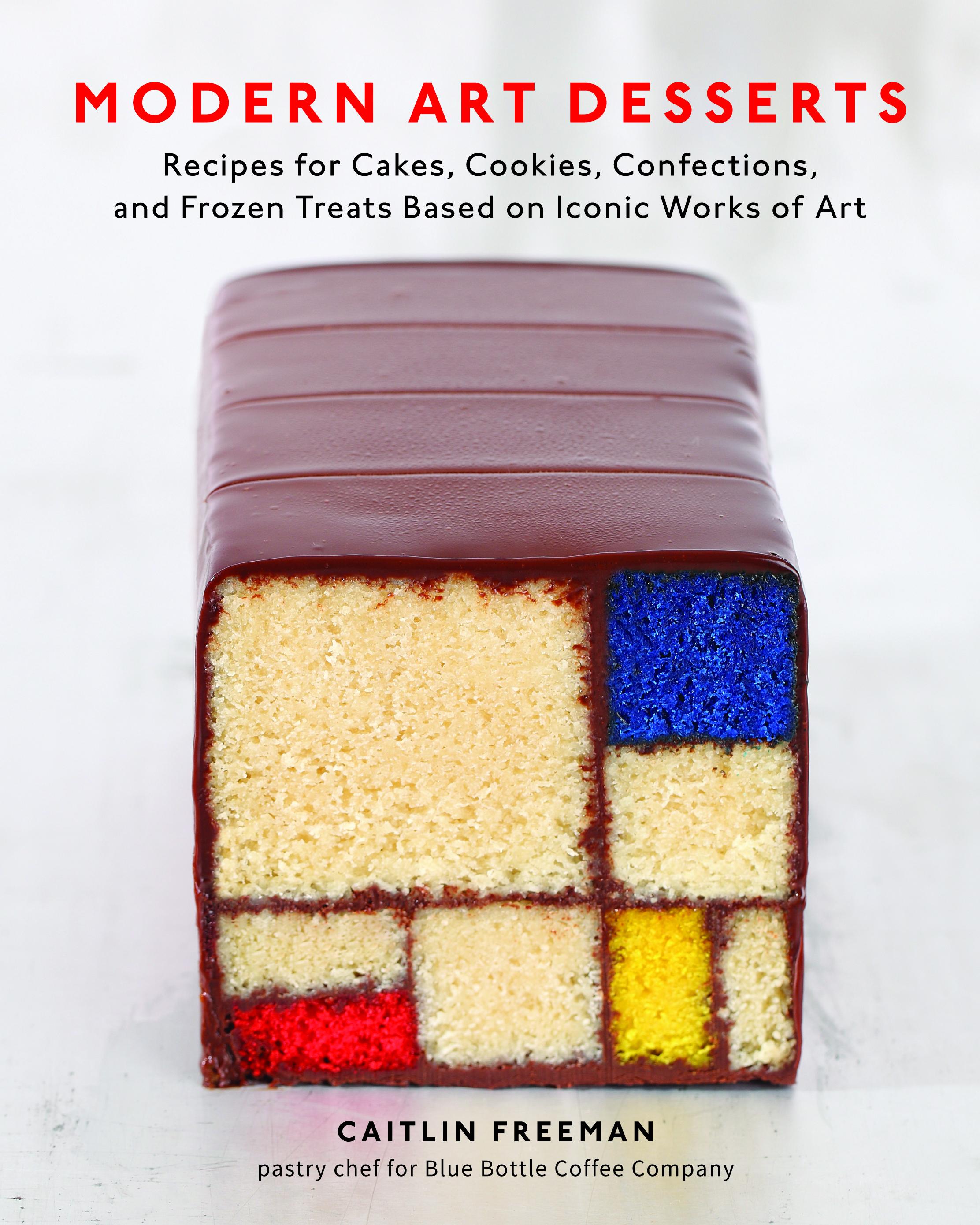 free modern art desserts