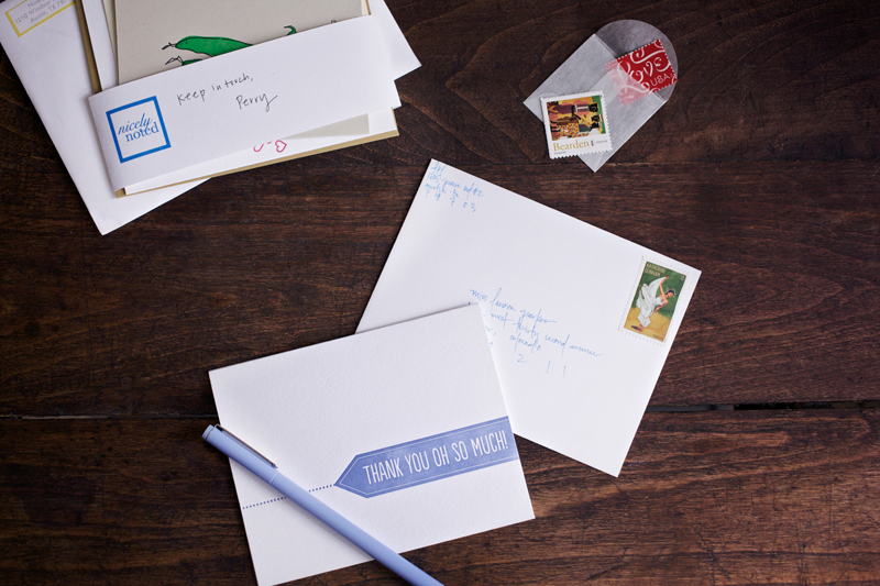nicelynoted stationery collection