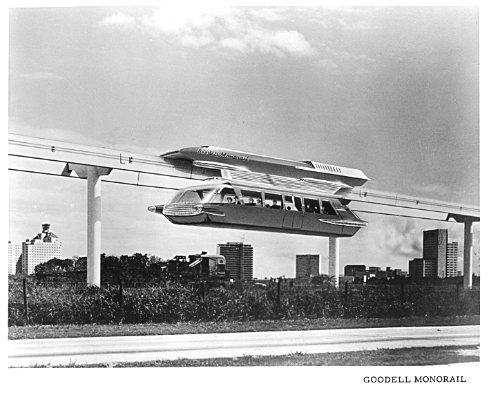 Goodell monorail made in la