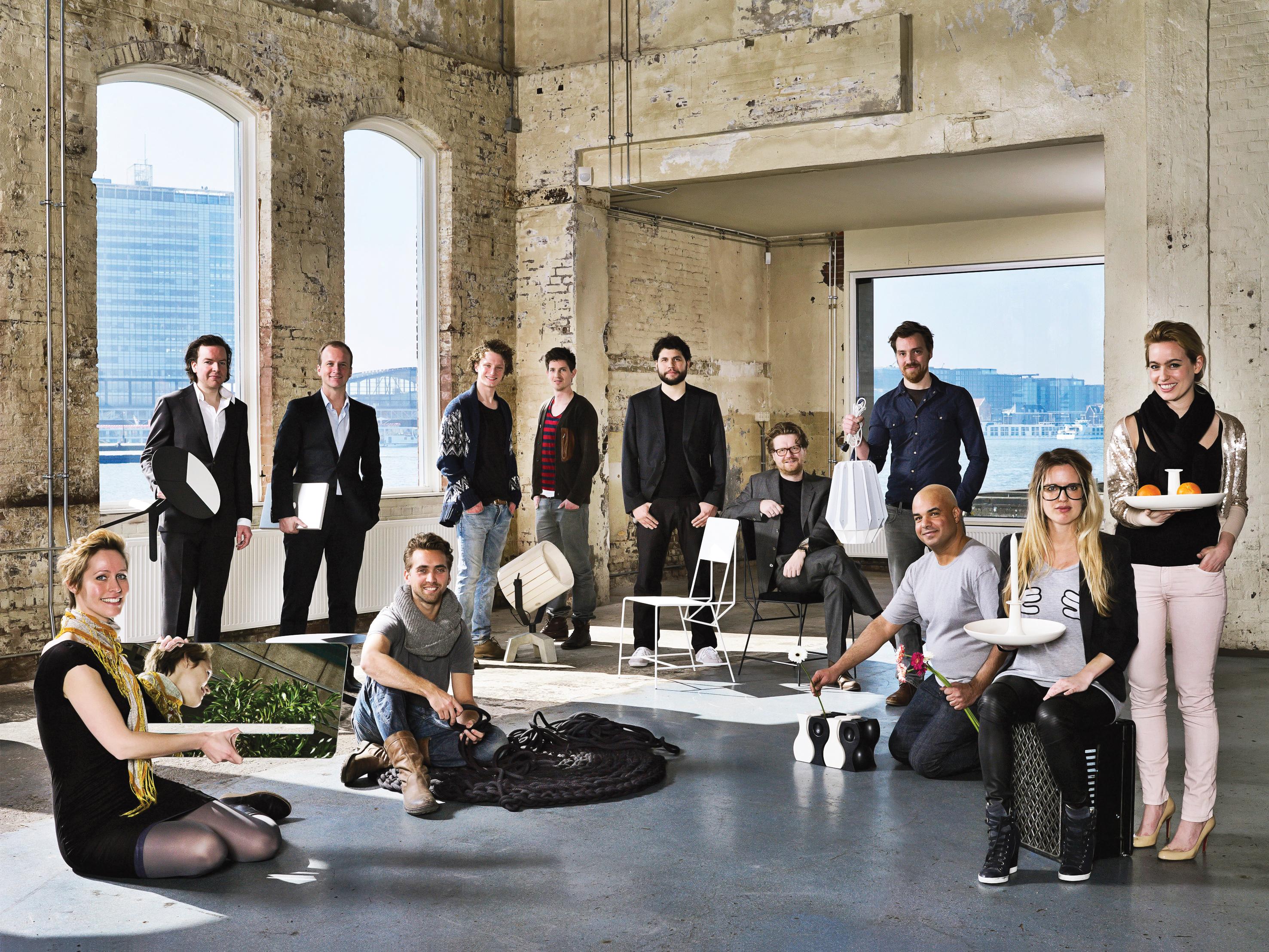 Portrait of New Duivendrecht designers.