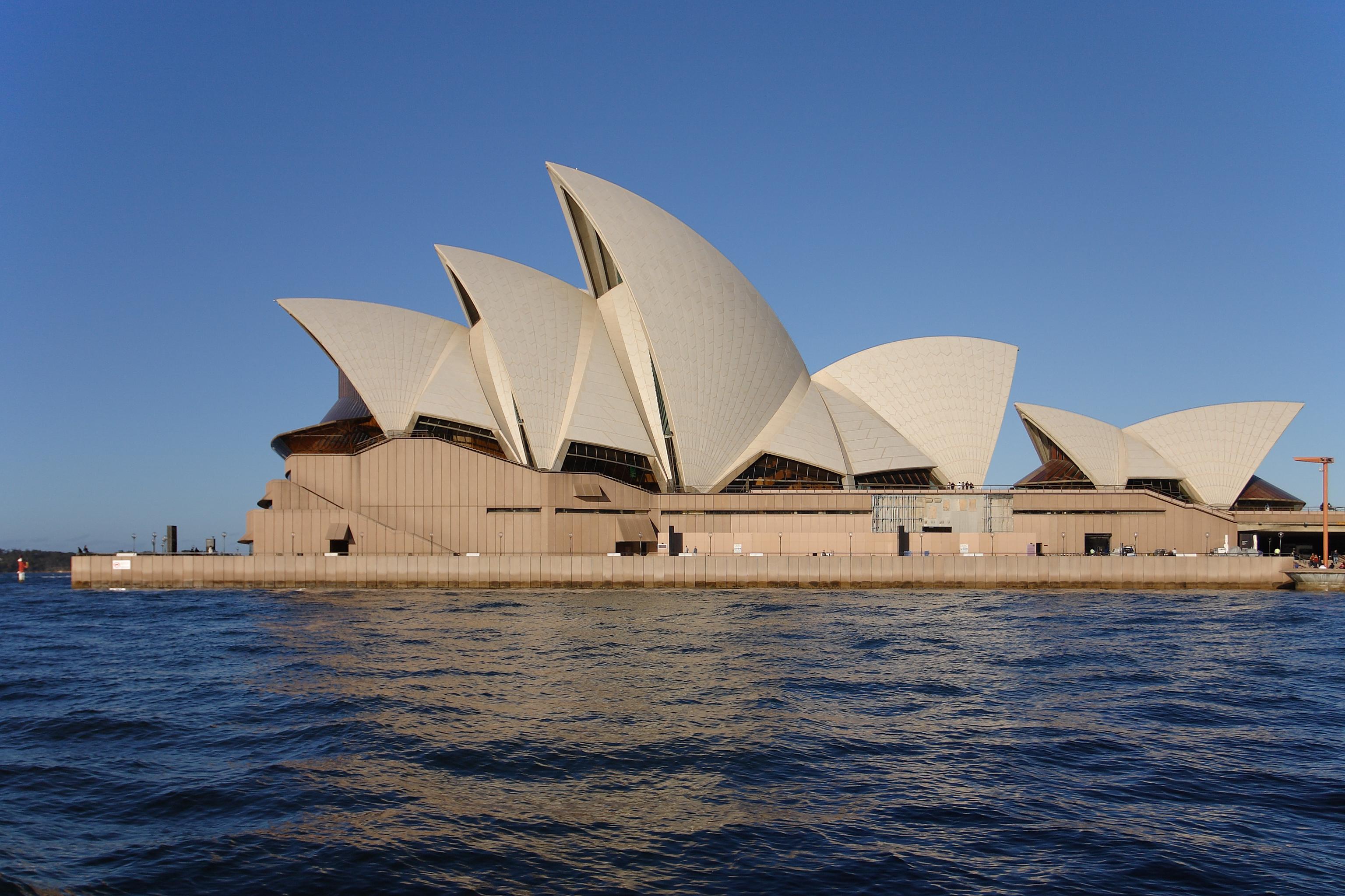 three buildings fuscaldo sydney opera house