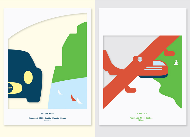 Okolo's Architect and Travel Cutout Posters