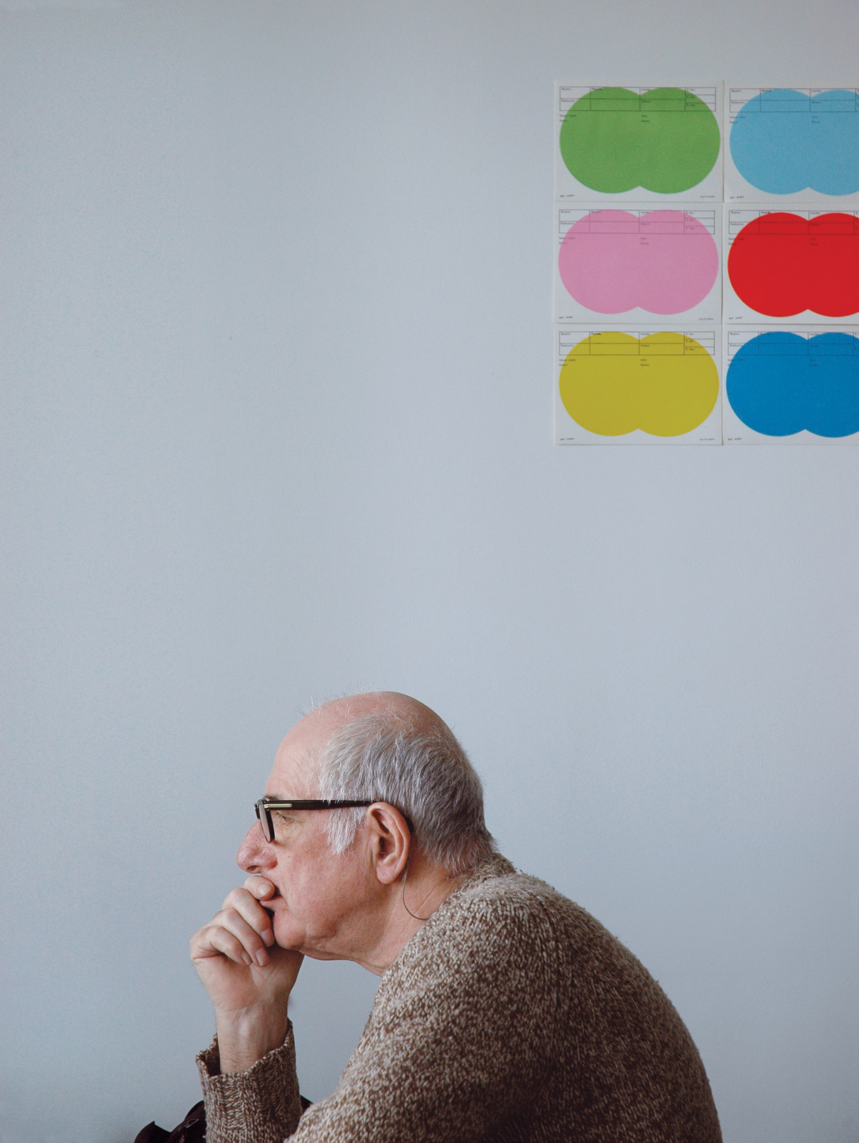 graphic designer Karel Martens portrait