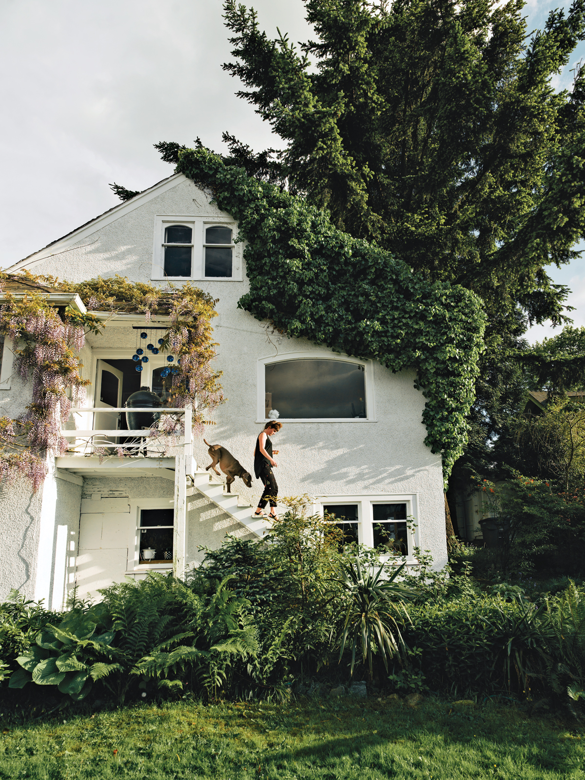 Designer Omer Arbel's Vancouver home exterior