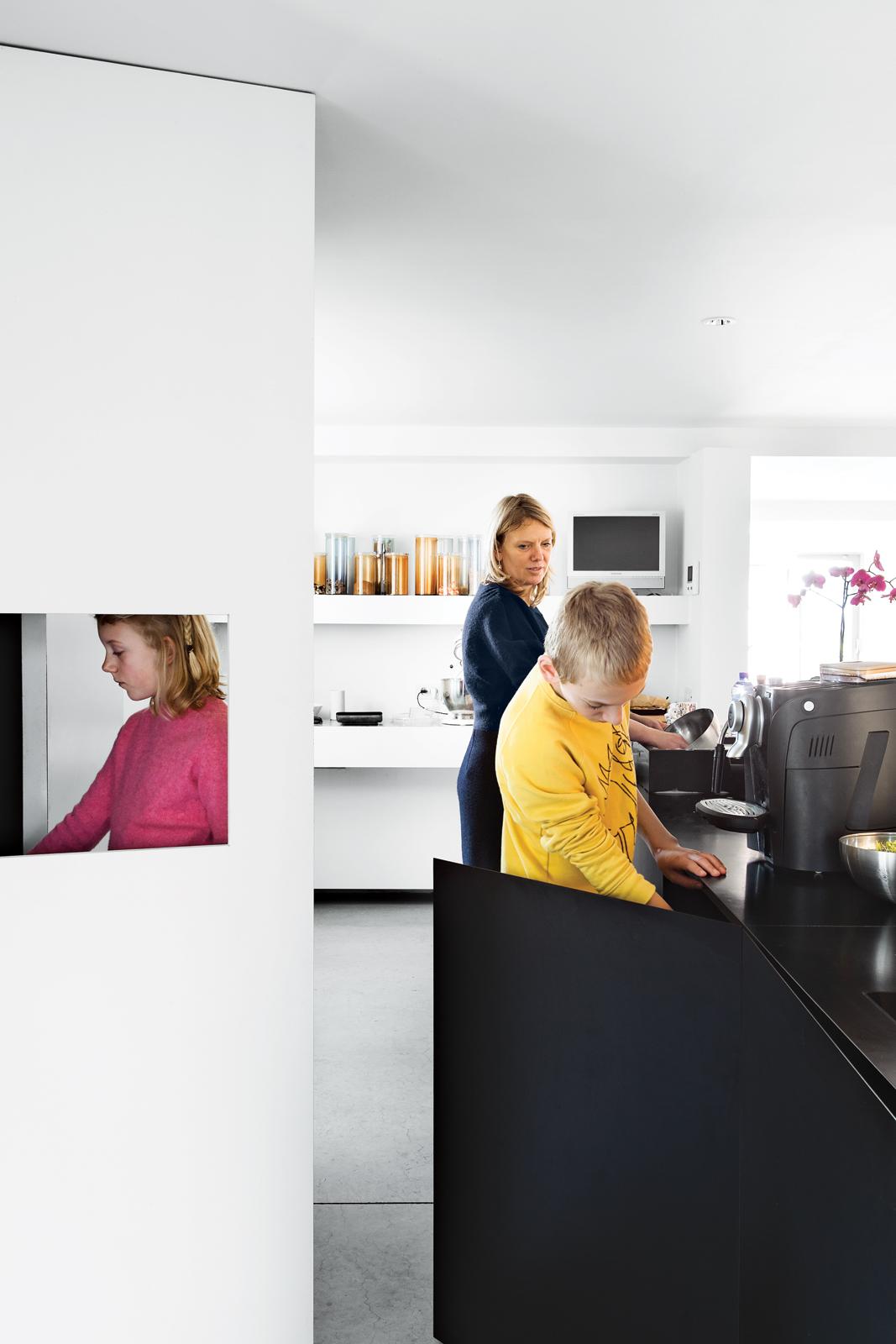 Modern Belgian design kitchen