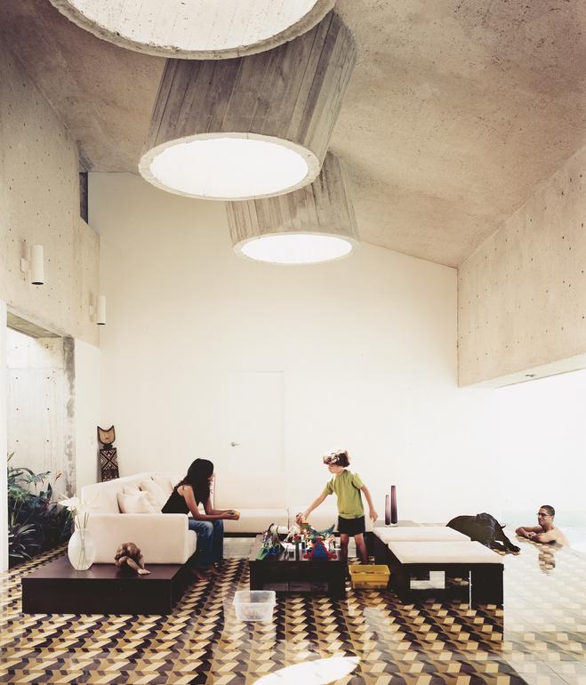 casa delpin living room