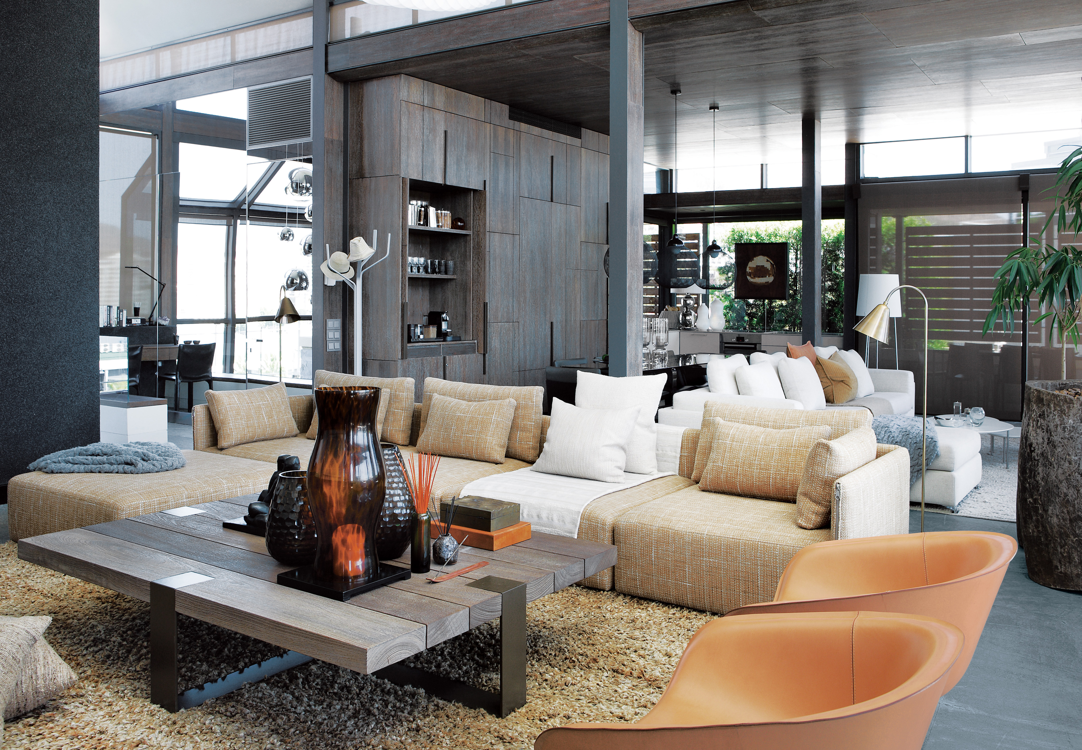 cape town penthouse interior living room