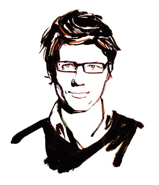 emerging spanish designer Alvaro Catalan de Ocon portrait