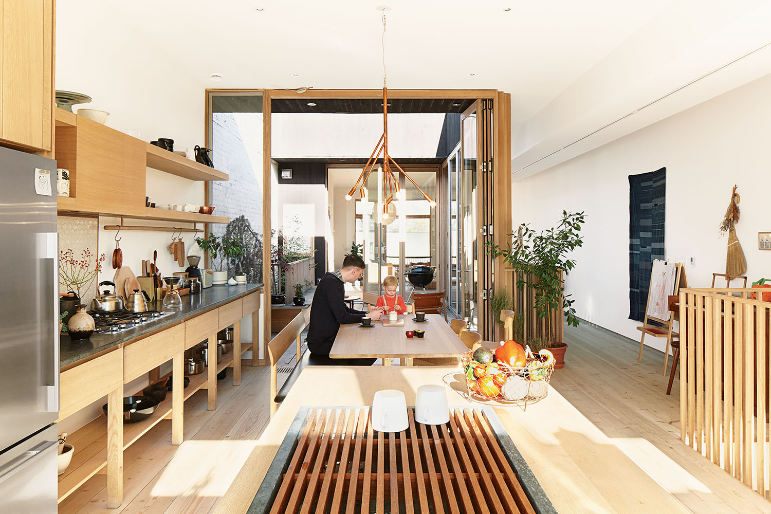 mjolk boutique owners renovate their Toronto dwelling interior kitchen